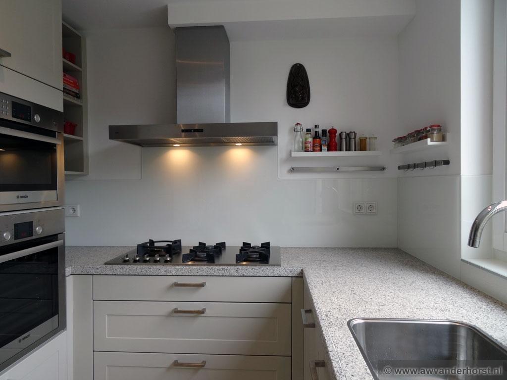 Keuken Lichtgrijs : Glazen Keukenwand Glazen Keuken Achterwand