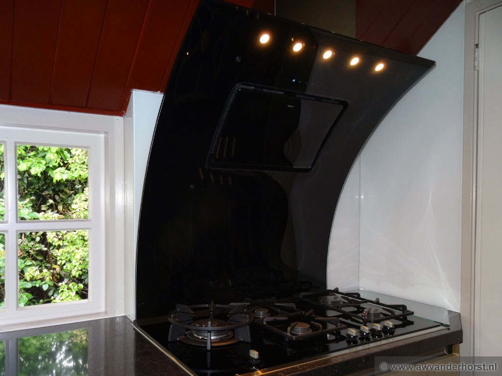 Keuken Achterwand Natuursteen : Glazen keuken achterwand glasplaat achterwand