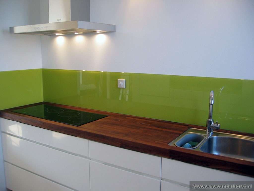 Glaswand Keuken Foto : Keuken Achterwand Glas Pictures to pin on Pinterest
