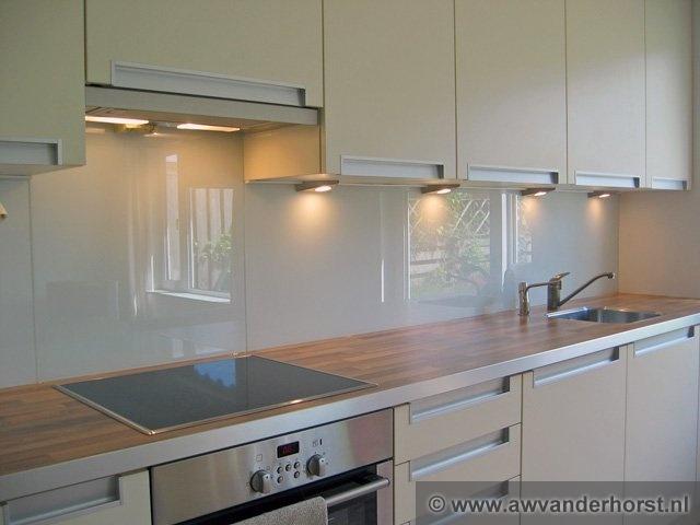 Glazen Achterwand Keuken Wit : Fotoalbum