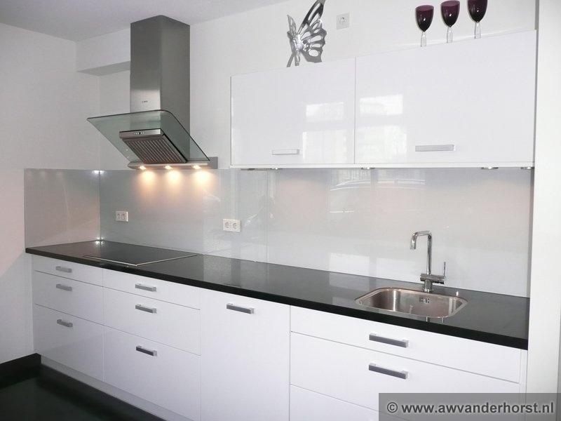 Achterwanden Keuken Foto : Glazen keuken achterwand