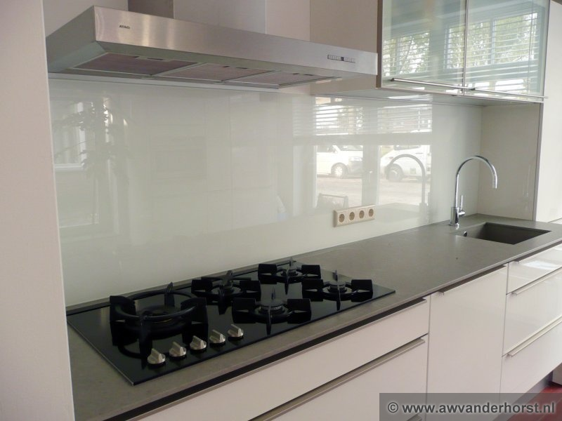 Glazen Achterwand Keuken Prijs : Fotoalbum