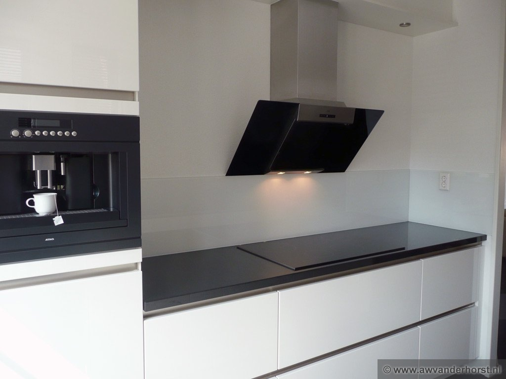 Keuken Glazen Achterwand : Fotoalbum